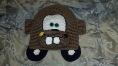 Ravelry: Tow Mater Hat pattern by Amber Allen