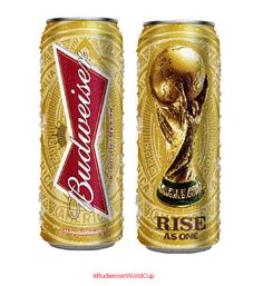 Shiny Budweiser #WorldCup 2014 #beer #packaging PD