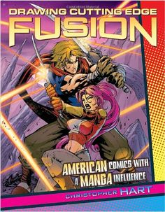 Drawing Cutting Edge Fusion: American Comics with a Manga Influence by Christopher Hart http://www.amazon.com/dp/0823001601/ref=cm_sw_r_pi_dp_gNN1tb0A4ZM9EGNM