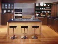 DETALHES - TORRE INOX Contemporary-Kitchen-Cabinets-Cup-Tea