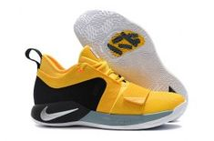 promo code f1140 1c79d High Quality Nike Paul George PG 2. 5 Yellow Black White Men's Basketball  Shoes Male