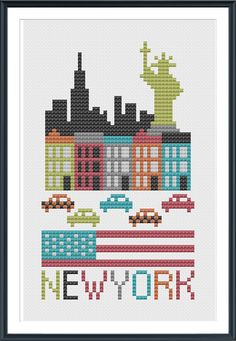 New York, designed by @Cheryl McKinnon, from Tiny Modernist.