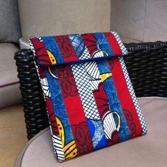 Patchwork iPad sleeve by Urbanknit #patchwork #iPad #handmade #ankara…