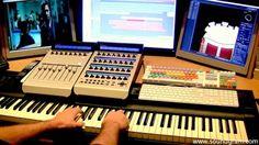 Trailer music studio tour with multi-instrumentalist Johan van der Voet ...