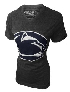 Penn State Women's Flash V- Neck T- Shirt