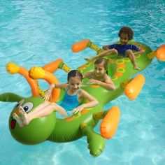 38.69$  Watch now - http://aiajj.worlditems.win/all/product.php?id=32761580929 - 186*116cm Children Inflatable Caterpillar Animal Ride On Water Toys Swimming Pool Float Three Circle Famlity Summer Outdoor Toy