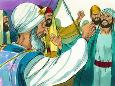 Stephen explained how the Jews had refused to listen to Moses and the prophets who declared that God would send a Saviour. They had then betrayed and killed Jesus, the Saviour God had sent.' The leaders were so furious they snarled and gnashed their teeth. – Slide 13