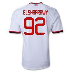 camisetas El Shaarawy ac milan 2014 segunda equipacion http://www.camisetascopadomundo2014.com/