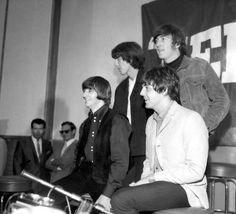 "August 29th 1965 Beatles ""Help!"" Press Conference"
