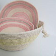 Flossie Teacakes: A Tutorial: Sewing a Rope Bowl