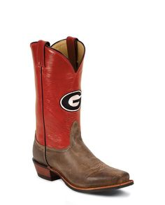 Men's Georgia Bulldogs Logo Boot  GO DAWGS!  Even though they are for men; I still think they're sharp!