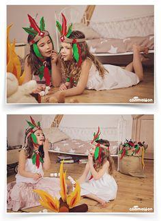 chamaleon.fr / coiffe d'indien / déguisement enfant War Bonnet, Peter Pan, Bikinis, Swimwear, Native American, Photoshoot, Costumes, Style, Fashion