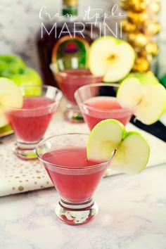 Cran Apple Martini R