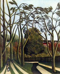 Henri Rousseau - Le printemps dans la vallée de la Bièvre (1909)