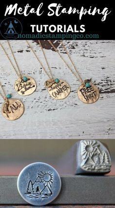 Jewelry OFF! Must have unique Metal Stamps and Metal Stamping Tutorials at the nomadicstampingco. Hand Stamped Metal, Hand Stamped Jewelry, Metal Stamping Jewelry, Metal Stamped Bracelet, Metal Stamping Supplies, Metal Jewelry Making, Grave, Country Jewelry, Metal Bracelets