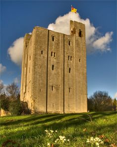 Hedingham Castle, Essex, England, is a motte and bailey castle and stone keep built in the 11th and 12th centuries by Aubrey de Vere I, II, and III.  Aubrey I awarded many estates by William the Conqueror upon conquest of England.  Aubrey de Vere II was the second Lord Great Chamberlin of England and the de Veres held the hereditary title until 1625. Aubrey I and II my 28th and 29th Great Grandfathers.