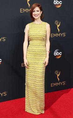 Ellie Kemper from 2016 Emmys Red Carpet Arrivals | E! Online