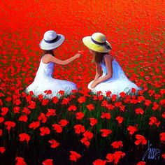 Risultati immagini per dima dmitriev Painting People, Beautiful Paintings, Bunt, Painting & Drawing, Watercolor Art, Poppies, Art Drawings, Illustration Art, Fine Art