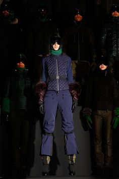 New York Fashion Week: Moncler Grenoble, Fall 2013