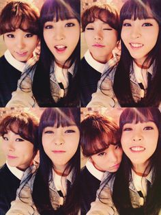 Wheein and Moonbyul
