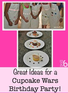 Fantastic ideas for hosting a Cupcake Wars birthday party at home! This post includes birthday party set up tips, a script to guide the guests through all of the challenges, and lots of ideas to make your Cupcake Wars Birthday Party awesome! Baking Birthday Parties, Birthday Party At Home, Birthday Party Favors, Birthday Fun, 10th Birthday, Cupcake Birthday, Baking Party, Paris Birthday, Winter Birthday