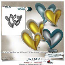 Hearts 01 - Templates by Eirene Designs cudigitals.com cu commercial scrap scrapbook digital graphics#digitalscrapbooking #photoshop #digiscrap #scrapbooking