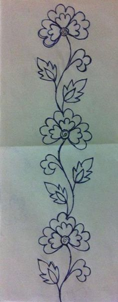 Latest Absolutely Free Embroidery Patterns mexican Tips Embroidery but has exist. Latest Absolutely Free Embroidery Patterns mexican Tips Embroidery but has existed forever—which Mexican Embroidery, Hand Embroidery Patterns, Ribbon Embroidery, Embroidery Stitches, Machine Embroidery, Sewing Patterns, Simple Embroidery, Flower Patterns, Flower Designs