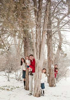 #Family #Christmas #holiday #winter #photo #shoot #portrait #happy #snow #outdoor #photography #red #white #matching #card #picture #artsy