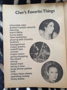 Cher and I have a lot in common.