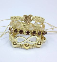bracelet shamballa infinity