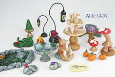 Ace of Clay Fairy Garden Accessories                                                                                                                                                      More