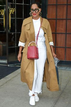 Tracee Ellis Ross knows how to style sneakers. Read on to see the five outfit ideas we're copying from her ASAP.
