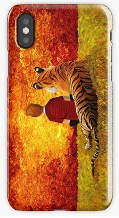 Best Friends iPhone Cases & Skins #iphonecase #iphonex #case #calvinandhobbes #comic #tiger #calvin #stripcomic #comics #strip #cartoons #classic #kids #adults #teens #bestfriends #valentine #OilPaintings #abstract #summer #sunset