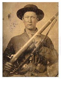 Civil-War-Tennessee-Confederate-Soldier-gun-photo-photograph-4x6