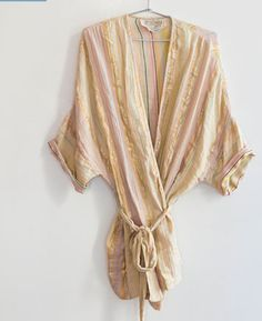 ace&jig Fall13 kimono robe in pyrite, exclusive at Of a Kind