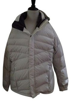 The North Face White Women Goose Down Jacket Parka Xl Tg (Reg. Coat Size 16  (XL c910315bf