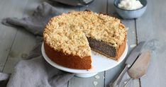 Baileys Irish Cream, Mini Brownie Bites, Streusel Cake, German Baking, German Cake, Poppy Seed Cake, Cake Tray, Peach Cake, Fall Cakes