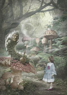 ALICE IN WONDERLAND BY VALERY PETELIN
