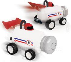 Formula Fun Salt & Pepper Shakers $19.99
