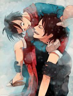 Ace x Luffy ♥