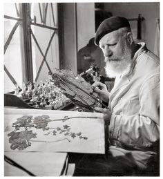 Robert Doisneau a réalisé deux reportages au Muséum national d'Histoire…