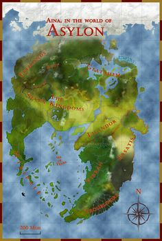 DeviantArt: More Like Another Blank Fantasy Map by Ragir | RPG Maps ...