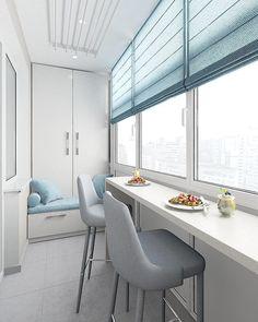 Оцените оформление этого балкона от 1 до 10⤵  Автор - sandi.design