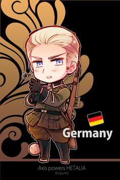 chibi Germany by Kitayume ~ Hetalia Hetalia Chibi, Anime Chibi, Manga Anime, Anime Boys, Hetalia Germany, Germany And Prussia, Hetalia Characters, Anime Characters, Hetalia Archives