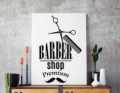 vinilo adhesivo decoracion barber shop