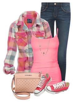 A fashion look from March 2015 featuring flannel shirt, blue jeans and Full Tilt. Browse and shop related looks. Mode Outfits, Casual Outfits, Fashion Outfits, Womens Fashion, Country Outfits, Grunge Outfits, Country Girls, Flannel Shirt Outfit, Plaid Flannel