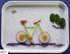 the art of nutrition | Tag Archives: Cute food art ideas bicycle
