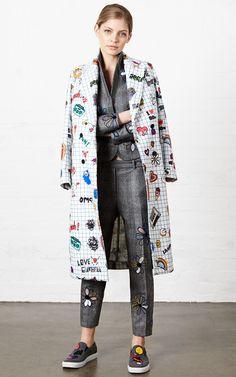 Mira Mikati Fall/Winter 2015 Trunkshow Look 27 on Moda Operandi