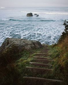 Trinidad, CA / Humboldt County Where the forest meets the ocean In Natura, All Nature, Stairway To Heaven, Vand, Am Meer, Adventure Is Out There, The Great Outdoors, Wonders Of The World, Places To See
