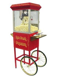 Popcorn machine...need this for my home theatre room!